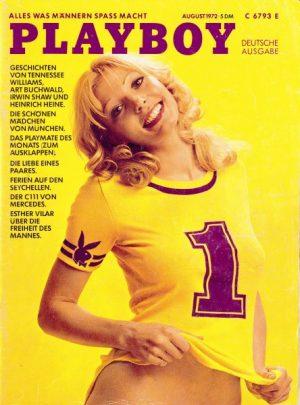 """Die Nummer eins: Am 1. August 1972 erschien die erste deutsche Ausgabe des """"Playboy"""" - 19 Jahre nach der Einführung auf dem US-Markt."""